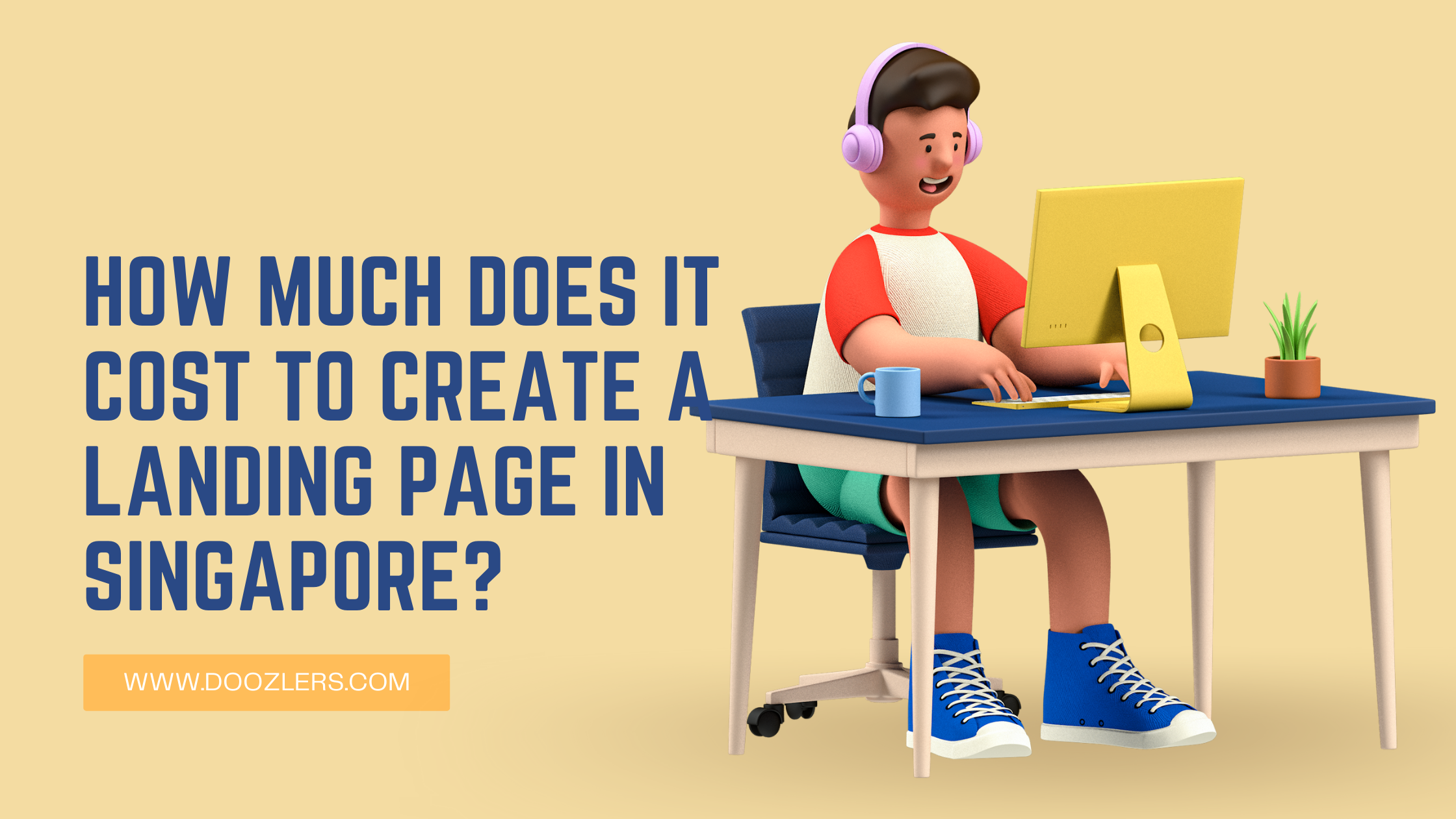 cost to create a landing page in Singapore